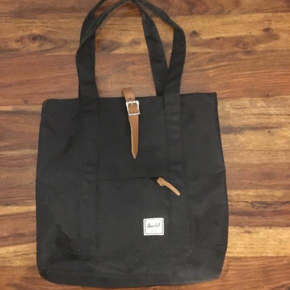 887e65170f8d Herschel Supply Company Handbags - Herschel Supply Co. Market Black Tote Bag